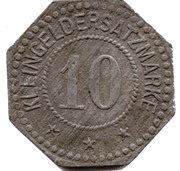10 Pfennig (Liebau) [Stadt, Schlesien] – reverse