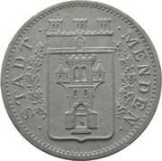 10 Pfennig (Menden) [Stadt, Westfalen] – obverse