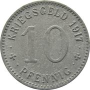 10 Pfennig (Menden) [Stadt, Westfalen] – reverse