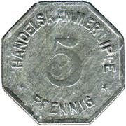 5 Pfennig (Lippe) [Handelskammer, Free State] – obverse