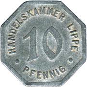 10 Pfennig (Lippe) [Handelskammer, Free State] – obverse