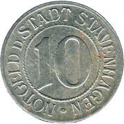 10 Pfennig (Stavenhagen) [Stadt, Mecklenburg-Schwerin] – obverse