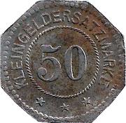 50 Pfennig (Oldenburg im Großherzogtum) [Stadt, Oldenburg] – obverse