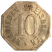 10 Pfennig (Neuwied) [Kreisbahn, Rheinprovinz] – obverse