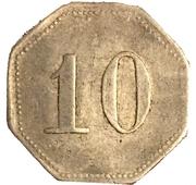 10 Pfennig (Neuwied) [Kreisbahn, Rheinprovinz] – reverse