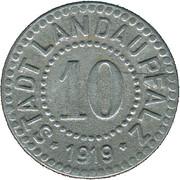 10 Pfennig (Landau) [Stadt, Pfalz] – obverse