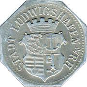 50 Pfennig (Ludwigshafen am Rhein) [Stadt, Pfalz] – obverse