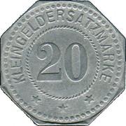 20 Pfennig (Neustadt an der Haardt) [Stadt, Pfalz] – reverse