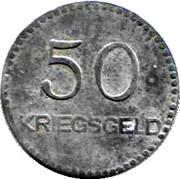 50 Pfennig (Kaiserslautern) [Stadt, Pfalz] – reverse