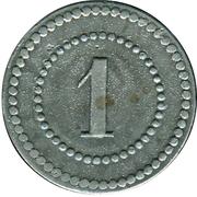 1 Pfennig (Ulm an der Donau) [POW, Württemberg] – reverse