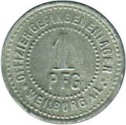 1 Pfennig (Weilburg an der Lahn) [POW, Hessen-Nassau] – reverse