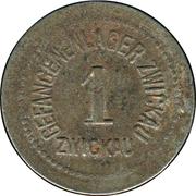1 Pfennig (Zwickau) [POW, Sachsen] – obverse