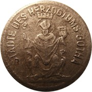 1 Pfennig (Gotha) [Städte des Herzogtums, Sachsen-Coburg] – obverse