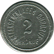 2 Pfennig (Ohrdruf) [POW, Sachsen-Coburg-Gotha] – obverse