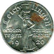 50 Pfennig (Leichlingen) [Stadt, Rheinprovinz] – obverse
