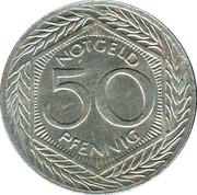 50 Pfennig (Leichlingen) [Stadt, Rheinprovinz] – reverse