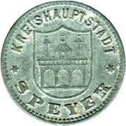 50 Pfennig (Speyer) [Kreishauptstadt, Rheinpfalz] – obverse