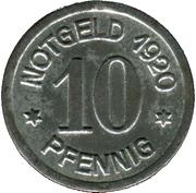 10 Pfennig (Daun) [Kreis, Rheinprovinz] – reverse
