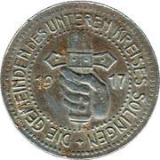 50 Pfennig (Solingen) [Gemeinden, Rheinprovinz] – obverse