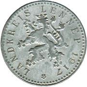 50 Pfennig (Lennep) [Kreis, Rheinprovinz] – obverse