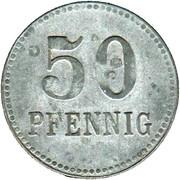 50 Pfennig (Lennep) [Kreis, Rheinprovinz] – reverse