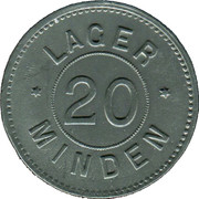 20 Pfennig (Minden) [POW, Rheinprovinz] – obverse