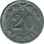 20 Pfennig (Minden) [POW, Rheinprovinz] – reverse