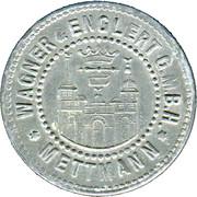 10 Pfennig (Mettman) [Private, Rheinprovinz, Wagner & Englert G.M.B.H.] – obverse