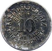 10 Pfennig (Schmölln) [Stadt, Sachsen-Altenburg] – reverse