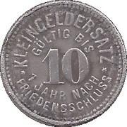 10 Pfennig (Gößnitz) [Stadt, Sachsen-Altenburg] – reverse