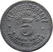 5 Pfennig (Schmölln) [Stadt, Sachsen-Altenburg] – reverse