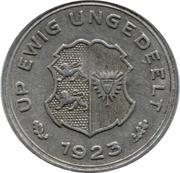 10/100 Gutschriftsmarke (Schleswig-Holstein) [Private, Girobank A.G.] – reverse