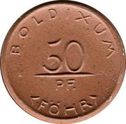 50 Pfennig (Boldixum auf Föhr) [Stadt, Schleswig-Holstein] – obverse
