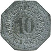 10 Pfennig (Gardelegen) [Kreis, Provinz Sachsen] – reverse