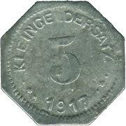 5 Pfennig (Eisleben) [Private, Provinz Sachsen, Mansfeldsche Gewerkschaft] – reverse