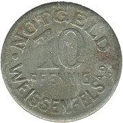10 Pfennig (Weißenfels an der Saale) [Stadt, Provinz Sachsen] – obverse