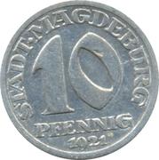 10 Pfennig (Magdeburg) [Stadt, Provinz Sachsen] – obverse
