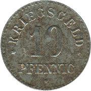 10 Pfennig (Groß-Salze) [Stadt, Provinz Sachsen] – reverse