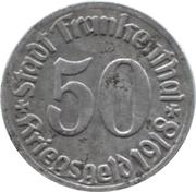 50 Pfennig (Frankenthal) [Stadt, Pfalz] – obverse