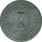 1 Pfennig (Mühlhausen in Thüringen) [Stadt, Provinz Sachsen] – reverse