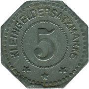 5 Pfennig (Wittenberg) [Stadt, Provinz Sachsen] – reverse