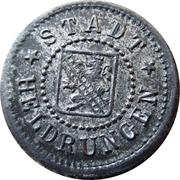 10 Pfennig (Heldrungen) [Stadt, Provinz Sachsen] – obverse