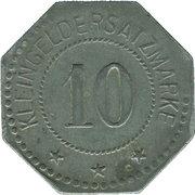 10 Pfennig (Sömmerda) [Stadt, Provinz Sachsen] – reverse