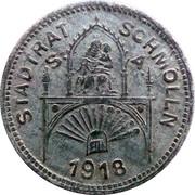 50 Pfennig (Schmölln) [Stadt, Sachsen-Altenburg] – obverse