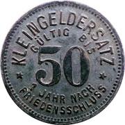 50 Pfennig (Schmölln) [Stadt, Sachsen-Altenburg] – reverse