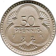 50 Pfennig (Altenburg) [Stadt, Sachsen-Altenburg] – reverse