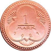 1 Mark (Altenburg) [Stadt, Sachsen-Altenburg] – obverse