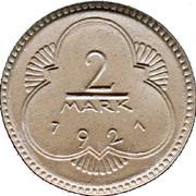 2 Mark (Altenburg) [Stadt, Sachsen-Altenburg] – reverse
