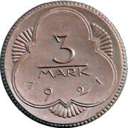 3 Mark (Altenburg) [Stadt, Sachsen-Altenburg] – reverse