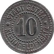 10 Pfennig (Gotha) [Stadt, Sachsen-Coburg] – reverse